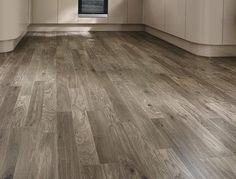 59 Ideas For Wood Kitchen Worktop Grey Kitchen Wood Design, Wood Floor Kitchen, Kitchen Wall Colors, Kitchen Worktop, Kitchen Flooring, Bathroom Flooring, Grey Oak, Dark Grey, Lights