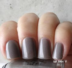 Elevation Polish SBP January 2014 - Name: Kamet Description: Soft Taupe jelly with hints of holographic pigment