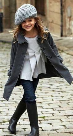 Kids fashion FW - February 17 2019 at Kids Fashion Boy, Tween Fashion, Little Girl Fashion, Toddler Fashion, Trendy Fashion, Womens Fashion, Top Mode, Cheap Kids Clothes, Stylish Kids Clothes