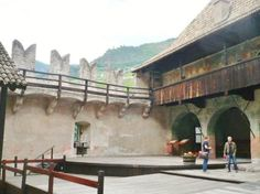 Castel Roncolo - Schloss Runkelstein (walls covered in frescoes) - Bolzano South Tyrol, Online Tickets, Fresco, Castles, Trip Advisor, Walls, Mountains, Fresh, Wall