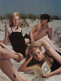 'an interpretation' steven meisel for vogue italia, july 1997 www.fashion.net