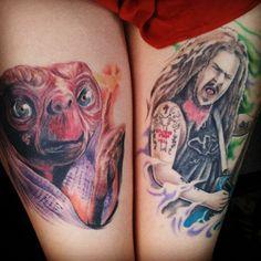 E.T. #tattoo. Photo by bambay666