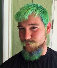 Coiffure couleur de cheveux homme