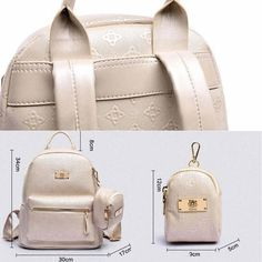 Latest Women Backpack Fashion Accessories Luxury Classical Rhombus Lattice High…