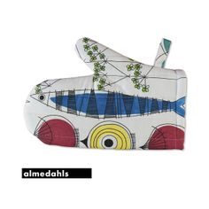 Ecological oven glove of the swedish brand #Almedahls.