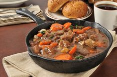 Skillet Beef & Vegetable Stew: 4SP: Ingredients 1 lb lean beef boneless sirloin steak 1 bag (1 lb) frozen stew vegetables, thawed 1 can (15 oz) chunky tomato sauce with garlic and herbs 1 3/4 cups Progresso™ beef flavored broth (from 32-oz carton) 2 cans (5 1/2 oz each) spicy eight-vegetable juice Directions Remove fat from beef. Cut beef into 1/2-inch …