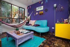 Cores; apartamento; sala; quarto; cozinha; decorção;
