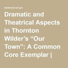 thornton wilder essay
