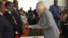 Zimbabwe's Mnangagwa woos white sports heroes. Presidents, Africa, Profile, Culture, Zimbabwe, Sports, News, User Profile, Hs Sports