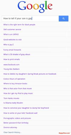 What your parents' Google search history probably looks like.