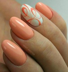 25 Beige Nail Designs Ideas to Try This Season matte nails polish;matte nails coffin The post 25 Beige Nail Designs Ideas to Try This Season matte nails polish;matte ombre n& appeared first on alss wp. Orange Nail Art, White Nail Art, White Nails, Peach Nails, White Nail Designs, Best Nail Art Designs, Oval Nail Designs, Ongles Beiges, Oval Nail Art