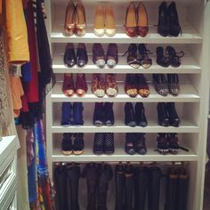 Life, Love and the Pursuit of Shoes: Shoe Closet Envy: Kendall & Kylie Jenner