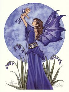 amy brown fairy art | Details about Amy Brown Fairy Print Joy Mother Baby Child Boy Shower ...