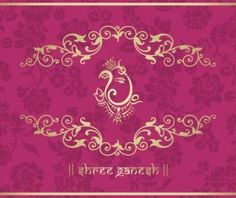 Indian ethnic pattern with pink backgrounds vector 08