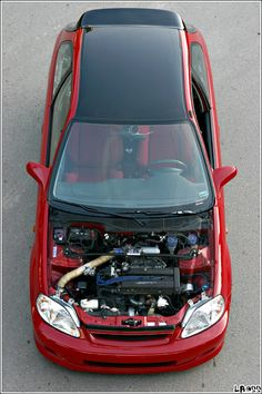 Imola Red G Spot EK Civic via Honda-Tech user bs-inc