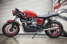 A cafe with flair. When people band together for the benefit of a charity amazing things happen and this Thruxton Cafe Racer is no exception. Roland Sands Designs in conjunction with Triumph and a handful of generous builders have just completed their second custom motorcycle to be auctioned off to raise funds for the Tony Hawk foundation. Very cool...