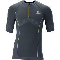 Salomon EXO MOTION ZIP TEE para los hombres corredores de Esportsale.com