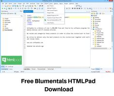 Free Blumentals HTMLPad Download  is a very useful web application programming language. This application is best as HTML, CSS and JavaScript code editor. Web Development Tutorial, Desktop Images, Music Pictures, Programming Languages, Web Application, Editor, Coding, Free, Programming