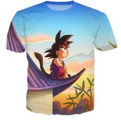 Y ni creas que podrías considerarte un admirador, ni siquiera de nivel superficial, si no sientes un amor inmenso por lo que representa esta simple camisa. | 20 Productos que solo los amantes de Dragon Ball adorarán