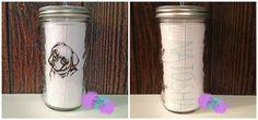 Personalized Mason Jar Tumbler-Pug on Etsy, $18.00