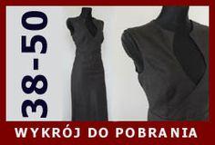 Kopertowa sukienka, wykrój polecany biuściastym kobietkom