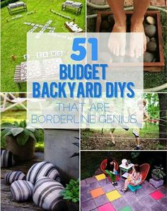 On a budget ideas for yard