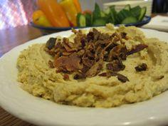 Peanut Butter Bacon Hummus