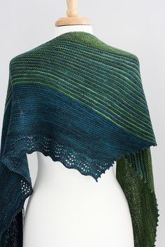 Designs by Romi Zephyr Cove Shawl Knitting Pattern