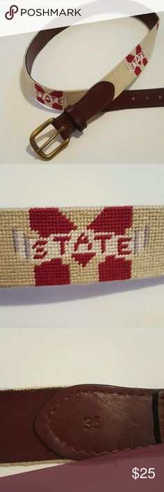 Mississippi State University Belt size 36 Mississippi State University Belt size 36 Accessories Belts