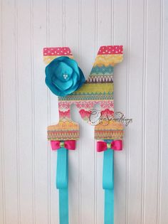Items similar to PERSONALIZED Bow and Headband Holder (Custom made to order) on Etsy
