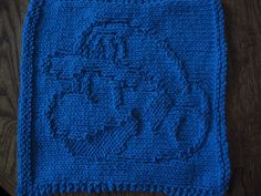 Mario dishcloth