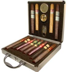 12 Best Cigars Of Rocky Patel And The Briefcase Humidor box of 12