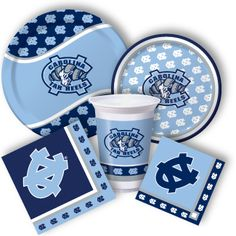North Carolina Tar Heels Party Supplies from www.DiscountPartySupplies.com