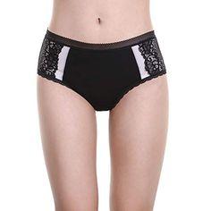 335c7d1b2634 LEVAO Womens Cotton High Waist Underwear Lace Hi Cut Panties Briefs Pack of  4,#High, #Waist, #Cotton, #LEVAO