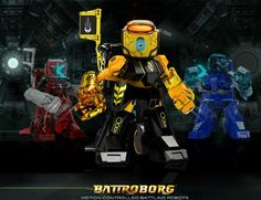 Fun For Grads and Dads with Battroborg Battling Robots from TOMY