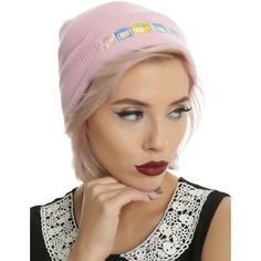 Hot Topic Melanie Martinez Cry Baby Beanie (100 NOK) ❤ liked on Polyvore featuring accessories, hats, multi, knit beanie caps, embroidered hats, knit beanie, embroidered knit hats and knit beanie hats