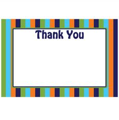 Free Printable Thank You Card For Download