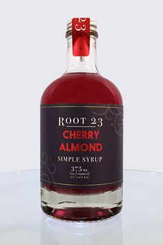 The cherry almond flavor is heavenly, and adds the perfect warmth to your holiday cocktails.Pairs well with bourbon, vodka or rum. Ingredients: Organic cane sugar, water, cherries, almond extract (wat