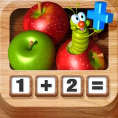 #AppyReview by Angie Gorz @AppyMall Adding Apples HD is a great app for simple addition for those who can benefit from visual supports. In this app, a screen comes up that appears similar to a calculator, but with dot representing the numbers, on the keys. When the child chooses two numbers to add, like 2 plus 2, each number is spoken and 2 apples are add when you press the first two and again when you press the second two in a disp