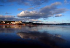 Paignton Beachscape, Devon, England.