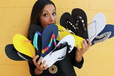 10 Ways to Trick Out Your Flip Flops – Brit + Co