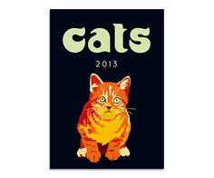 2013 Cats in Color Calendar by Sebastiano Ranchetti