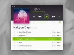 Spotify MiniPlayer Concept by Sven Kaiser� (D�sseldorf, Germany)