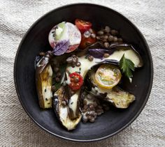 Roasted-eggplant-salad-with-tangy-miso-dressing-5