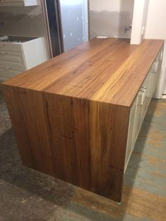 Timber Revival Recycled Timber Benchtops With Waterfall