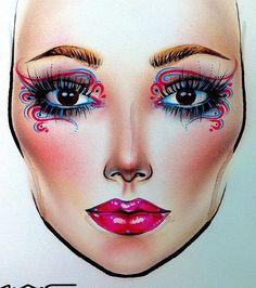 #artist@milk1412 #mylove #myart #myartistcommunity #myartistcommunityrussia #makeup #makeupart #makeupstar #makeupartist #makeuplover #macfacechart #luck #facechartartist #fashion #facechart #facechartart #faceart #визажист #макияж #макфейсчарт #фейсарт #фейсчарт #creative #creativemakeup #maccosmetics #mac #macmua #fantastic