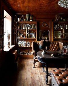 Romantic farmhouse style interior design by Annie Brahler Smith - found on Hello Lovely Studio