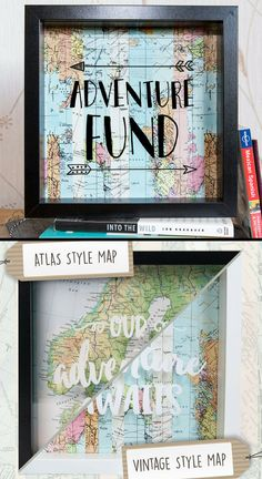 This travel fund box is too cute, great way to actually save some extra money! #travel #travelfund #piggybank #savemoney #affiliate #wanderlust #vacation