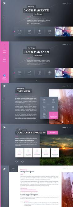 Particip Website v02 on Behance