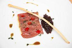 Kachní prso nářez, cibulová marmeláda  + www.morgal.cz/aktualni-nabidka-jidel Steak, Beef, Food, Meat, Essen, Steaks, Meals, Yemek, Eten